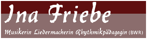 Liedermacherin Ina Friebe